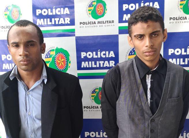 Assaltantes são presos após perseguição no Setor Bueno