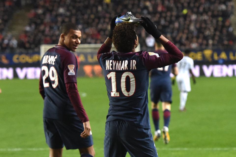 Após ser poupado, Neymar pode voltar a jogar no Francês