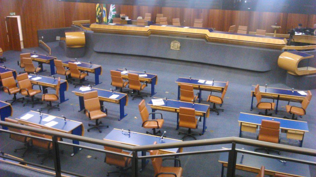 Projeto pode obrigar vereadores a registrarem ponto biométrico em dias de sessão