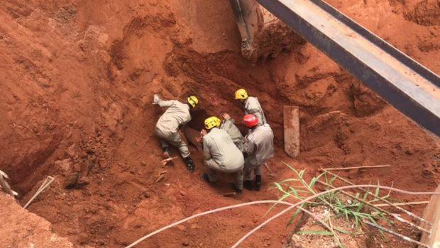 Soterramento deixa dois mortos, em Abadiânia