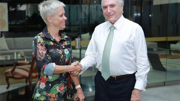 Temer não desistiu de posse de Cristiane Brasil, diz Marun
