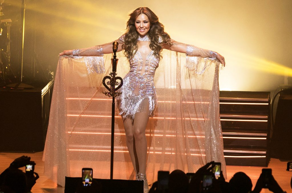 Thalía poderá fazer apresentações no Brasil em 2018