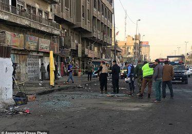 Atentado com dois homens-bomba deixa ao menos 26 mortos em Bagdá