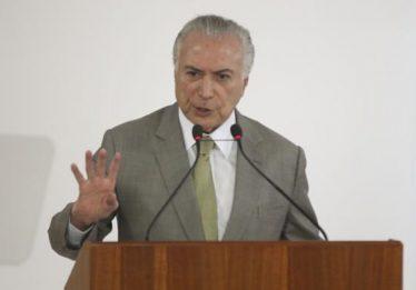 Temer anunciará criação do Ministério de Segurança Pública na segunda-feira