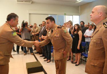 Coronel Ricardo Mendes é empossado no  Comandando de Policiamento da Capital