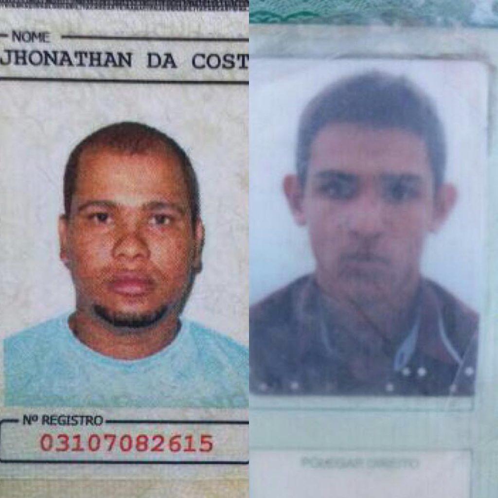 Dois homens suspeitos de roubo e tráfico de drogas são mortos em confronto com a PM