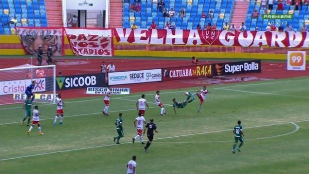 Vila Nova sai na frente, mas Goiás empata o clássico