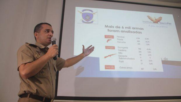 Armas utilizadas em crimes vem de fora de Goiás, aponta estudo