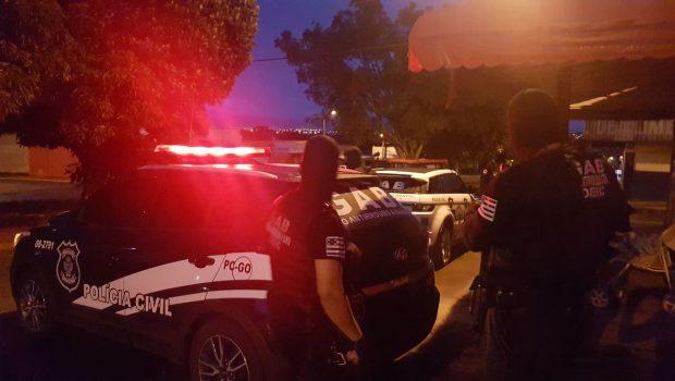 Operação prende oito suspeitos da morte de agentes prisionais em Anápolis