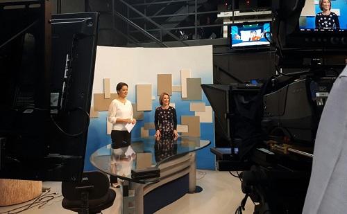 Em entrevista à TBC, secretária Raquel Teixeira fala de concurso