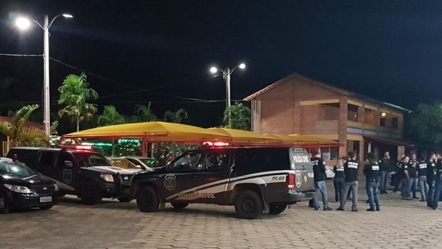 Operação prende 51 membros de organização criminosa paulista no interior de Goiás