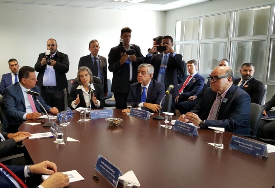 Cármen Lúcia volta à Goiás para acompanhar execução de recomendações