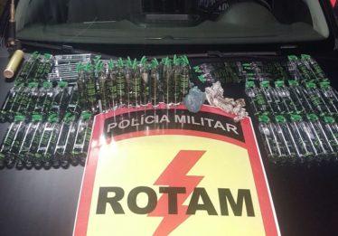 Jovem é preso com 98 frascos de lança perfume no Jardim Novo Mundo, em Goiânia