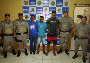 Suspeitos de roubarem fazendas são presos em Ipameri