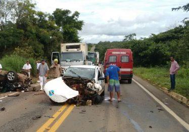 Funcionário da Saneago morre em acidente de trânsito na GO-330