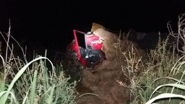 Após passar mal, motorista morre em acidente na BR-153, em Mara Rosa