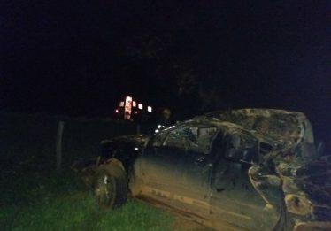 Homem morre após veículo em que estava capotar na GO-116, em Formosa