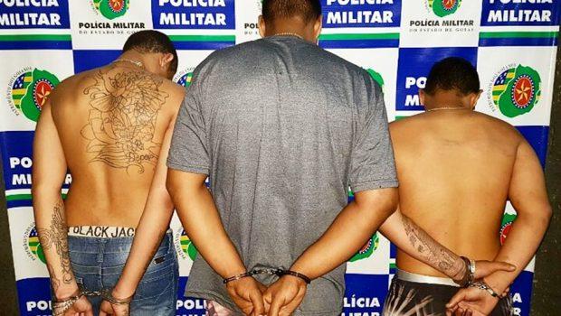 PM localiza trio que executou duas pessoas no final de semana em Goiânia