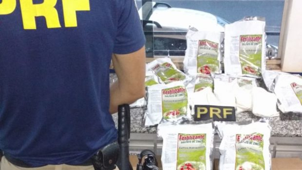 Agrotóxico de comercialização proibida no Brasil é apreendido pela PRF em Itumbiara