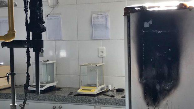 Laboratório do curso de Engenharia de Alimentos da UFG é interditado