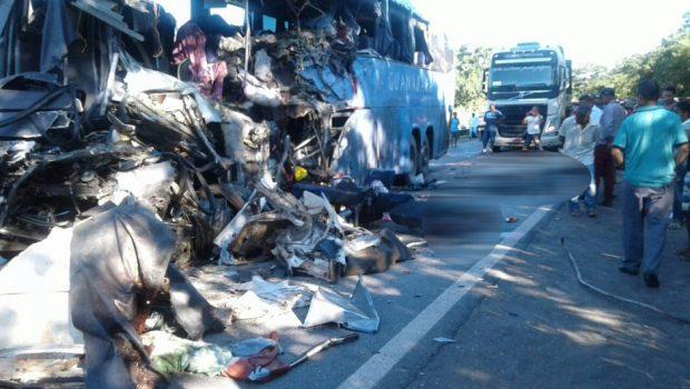 Invasão de pista contrária foi a causa do acidente na BR-020, em Formosa