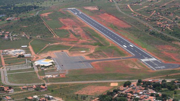 Justiça pede suspensão parcial das obras do aeroporto de cargas de Anápolis