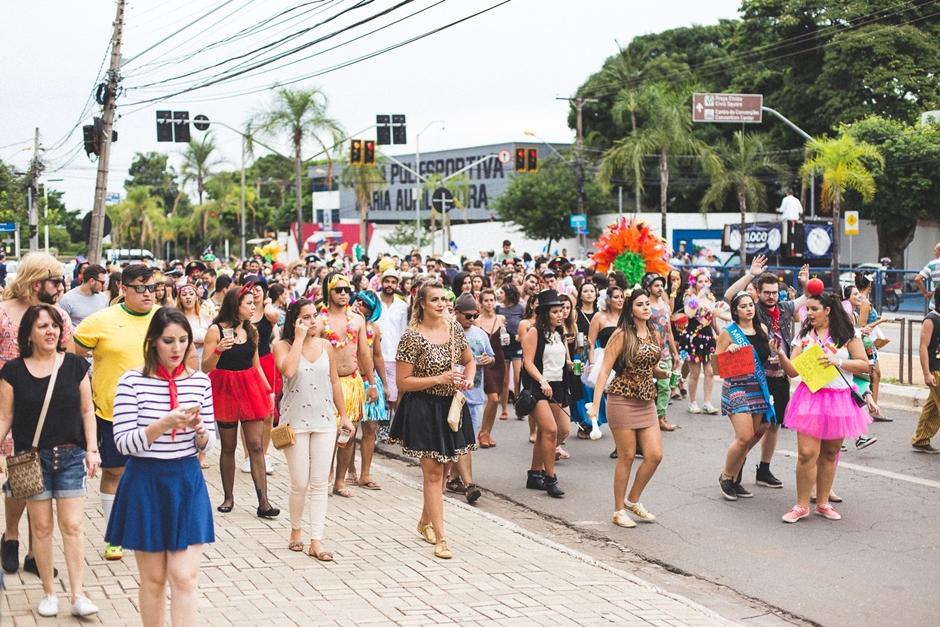 Bloco de carnaval gratuito sai às ruas neste sábado, em Goiânia