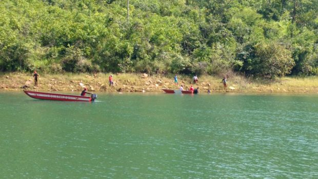 Corpo de homem que caiu de embarcação no Lago Corumbá IV é encontrado, em Luziânia