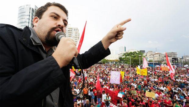 Guilherme Boulos lança pré-candidatura à Presidência da República
