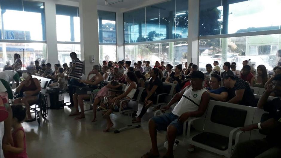 Pacientes não conseguem atendimento no Cais de Campinas, em Goiânia