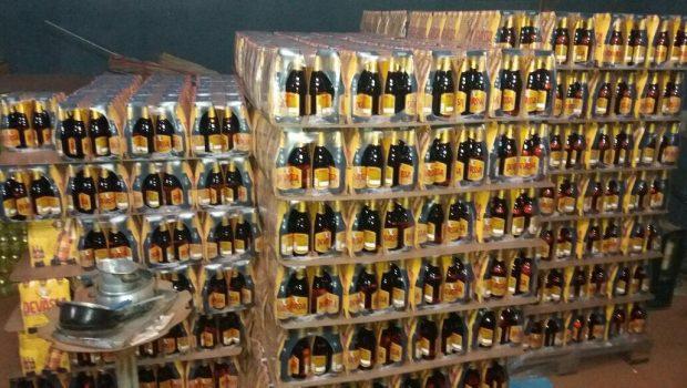 Trio suspeito de roubar 3 mil caixas de cerveja é preso pela polícia durante perseguição na GO-070