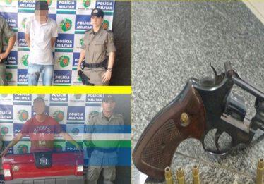 Dois homens são presos por furto em estacionamento de hipermercado em Goiânia