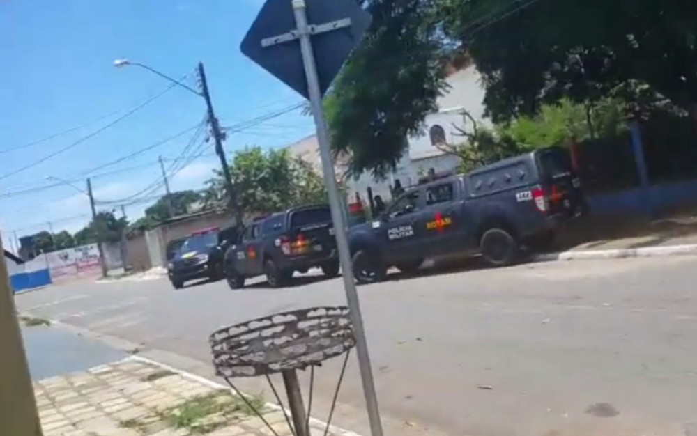 Homem é morto a tiros após confronto com a Rotam, em Goiânia