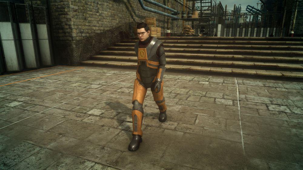 Final Fantasy XV na Steam tem roupa baseada em Half-Life