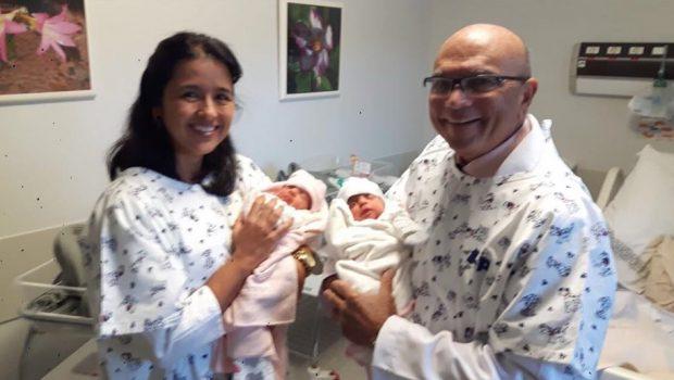 Ivete Sangalo publica fotos das gêmeas Marina e Helena
