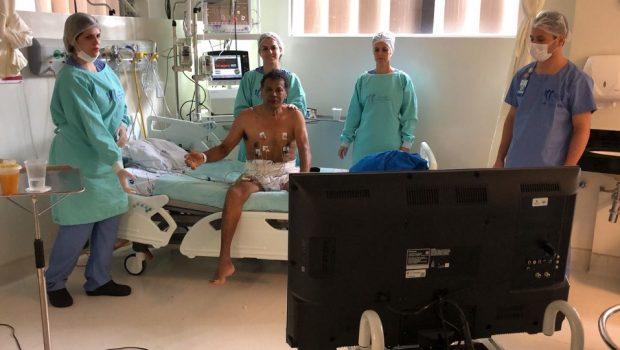 Em UTI de hospital público, pacientes se recuperam com videogame; veja vídeo