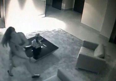 Vídeo mostra mulher e namorado em prédio antes do corpo dela ser achado em apartamento, em Goiânia