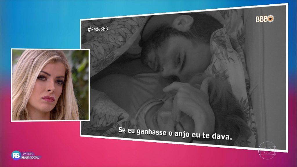 Eliminada do 'BBB 18', Jaqueline critica edição da Globo no 'Mais Você'