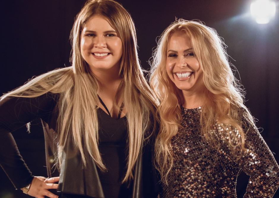 'Perdeu a Razão': Marília Mendonça e Joelma gravam clipe juntas
