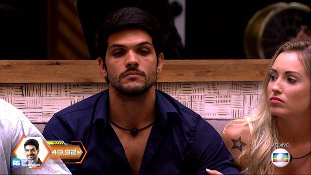 BBB 18: Lucas é eliminado no quinto Paredão com 49,92% de rejeição