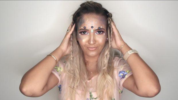 Aprenda como fazer efeito de escamas na maquiagem de Sereia para o Carnaval; assista