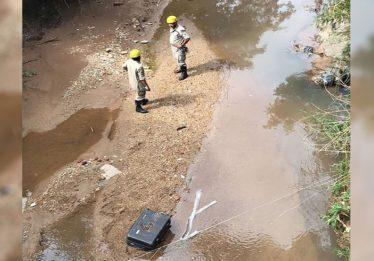 Corpo de mulher é encontrado dentro de mala em córrego de Aparecida de Goiânia