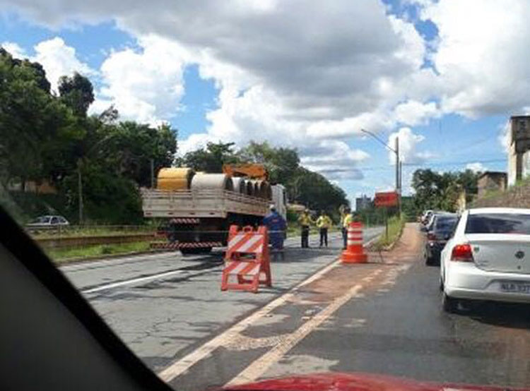 Após apresentar novo problema, Marginal Botafogo é interditada novamente