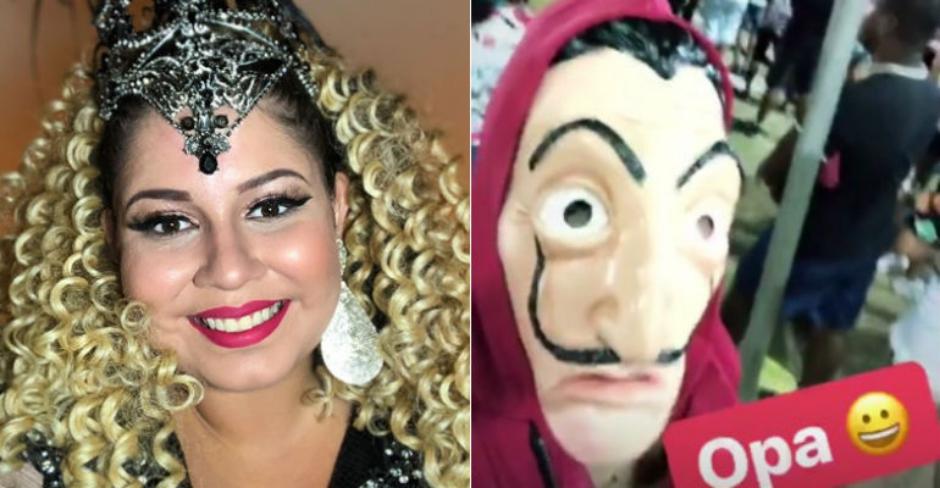 Marília Mendonça se disfarça para curtir o Carnaval de Salvador
