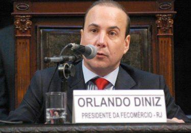 Presidente da Fecomércio do RJ, Orlando Diniz, é preso por esquema com Cabral