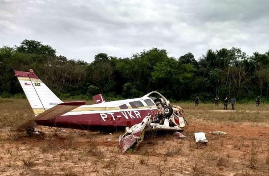 Monomotor cai em área urbana de Manaus e deixa quatro mortos