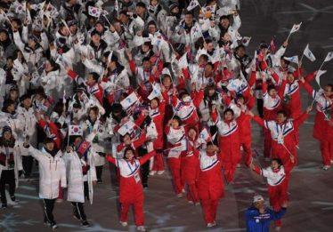 Encerramento dos Jogos tem Coreias unidas e Noruega campeã