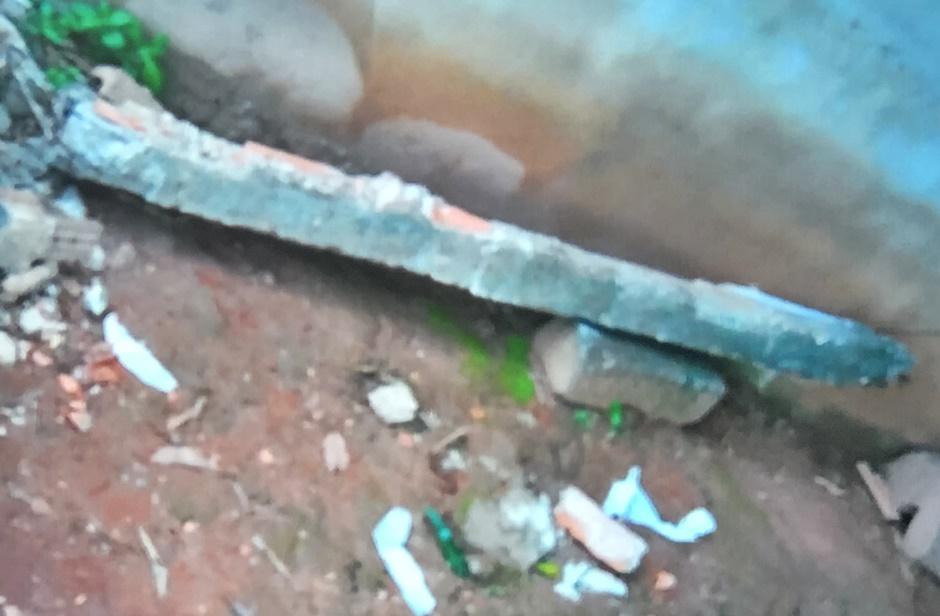 Criança de 8 anos morre após ter a cabeça atingida por viga de concreto