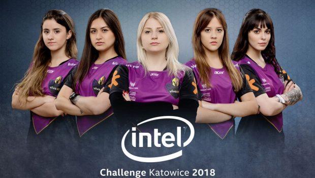 Equipe feminina da Vivo Keyd vai às eliminatórias do Intel Challenge 2018