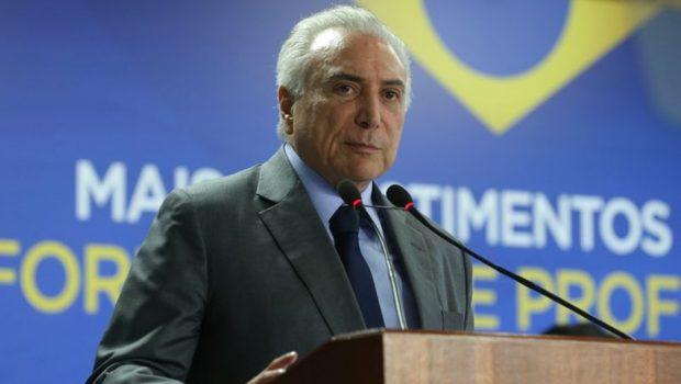 Temer anuncia crédito a polícias estaduais sem definir valores